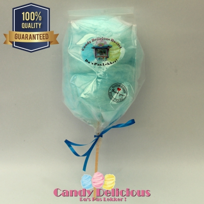 Candy Delicious Suikerspin op Stok Blauw