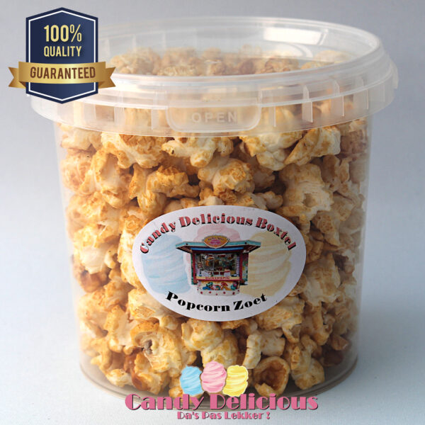 8720256361176 Candy Delicious Popcorn Zoet 1 Liter
