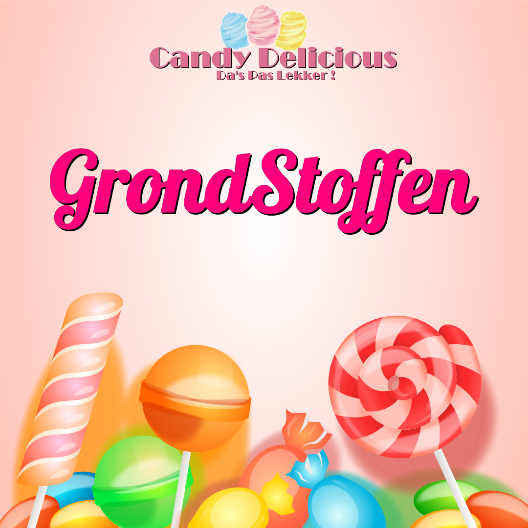 Grondstoffen Candy Delicious