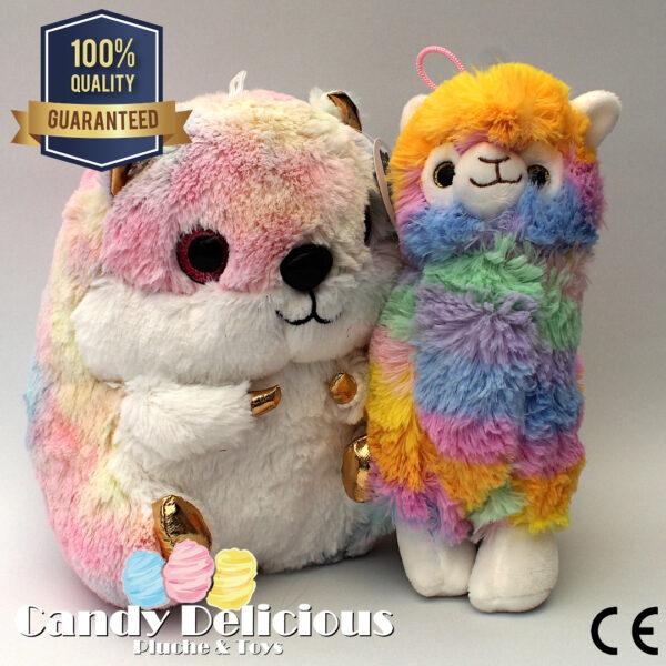 8720256361084 Knuffel Duo Hamster Alpaca