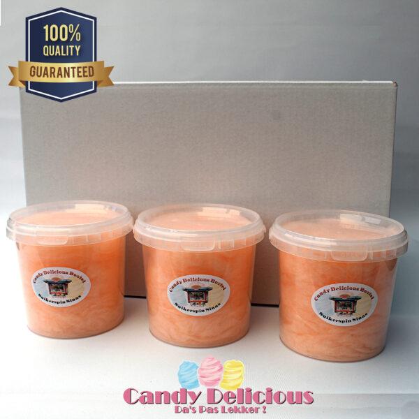 8720256361213 Suikerspin Oranje 12 Stuks
