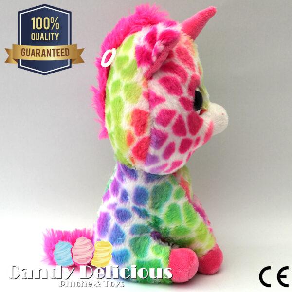8720256361602 Unicorn Pluche Gevlekt