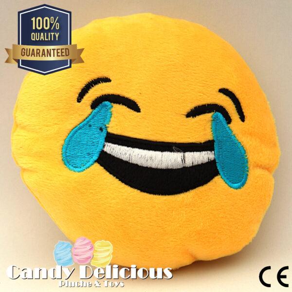 Pluche Emoticons Huilen van het Lachen