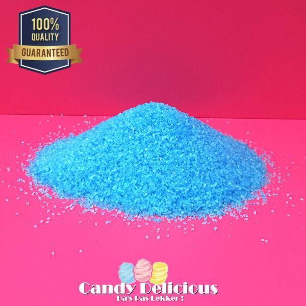 Suikerspin Suiker Blauw Bosbes