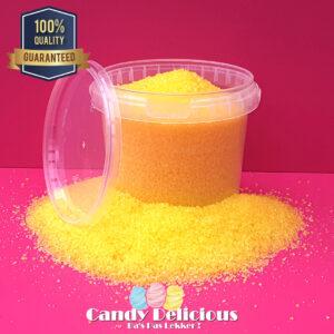 Suikerspin Suiker Geel Banaan