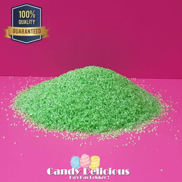 Suikerspin Suiker Groen Appel