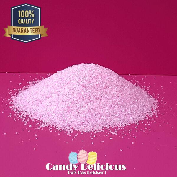 Suikerspin Suiker Licht Roze Aardbei