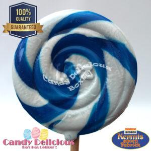 8711601996907 Spiraal Lolly Blauw Wit
