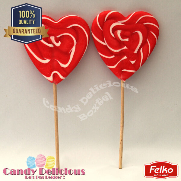 Spiral Heart RedWhite Duo Pack