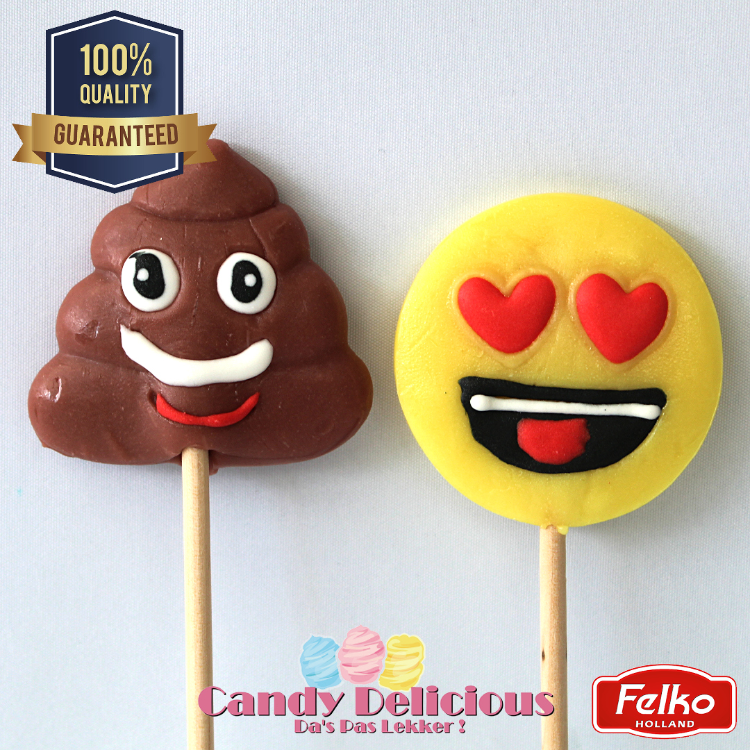 Emoticon Lolly Duo Pack 2