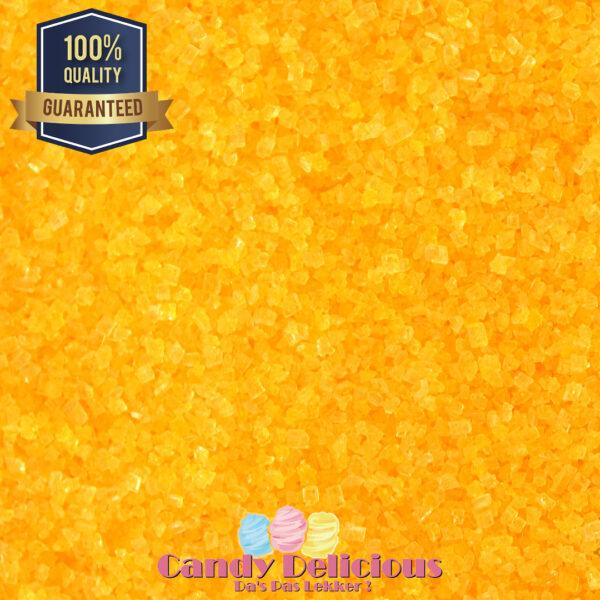 Suiker Geel 500gr Candy Delicious