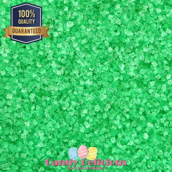 Candy Delicious Suikerspin Suiker Groen 500gr