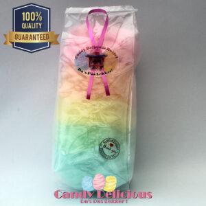 Candy Delicious Suikerspin 5 kleuren Blokzak