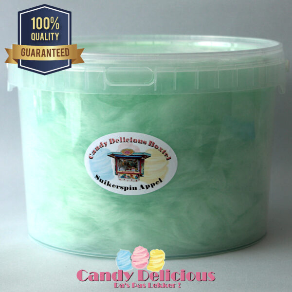 Candy Delicious Suikerspin Appel 3 Liter 8720256361817