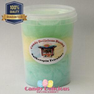 Suikerspin Trocolore Blauw Geel Groen