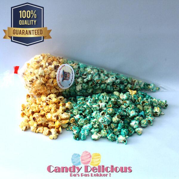 Candy Delicious Puntzak Zoete en Blauwe Popcorn