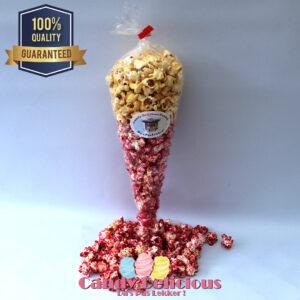 Candy Delicious Puntzak Zoete en Roze Popcorn
