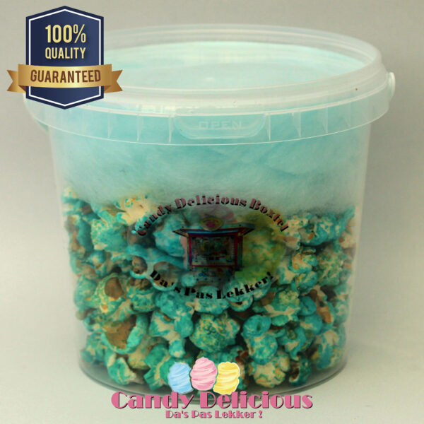 Candy Delicious Popspin Blauw 1 Liter