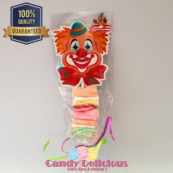 Clown Sticks met Spek