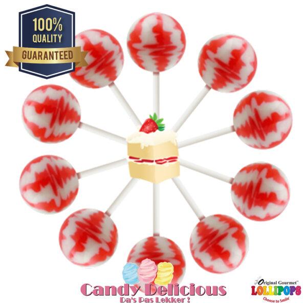 Gourmet Lollipops Strawberry Shortcake 6549541222372