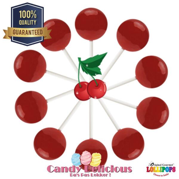 Gourmet Lollipops Wild Cherry 6549541222372